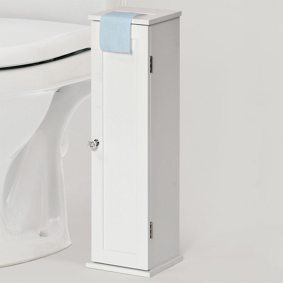 Savona Bathroom Toilet Roll Storage Cabinet