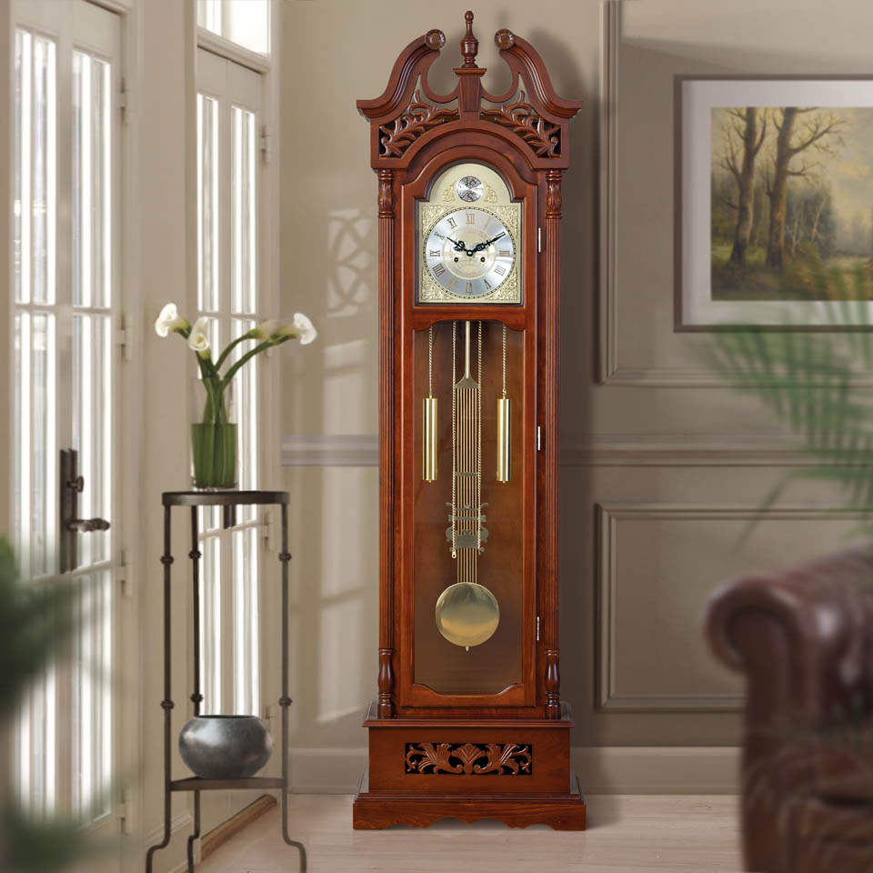 Grosvenor Wooden Grandfather Clock