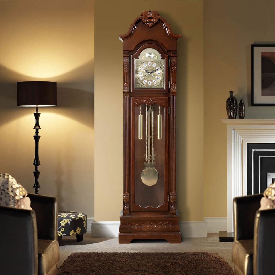 Beaufort Wooden Grandfather Clock