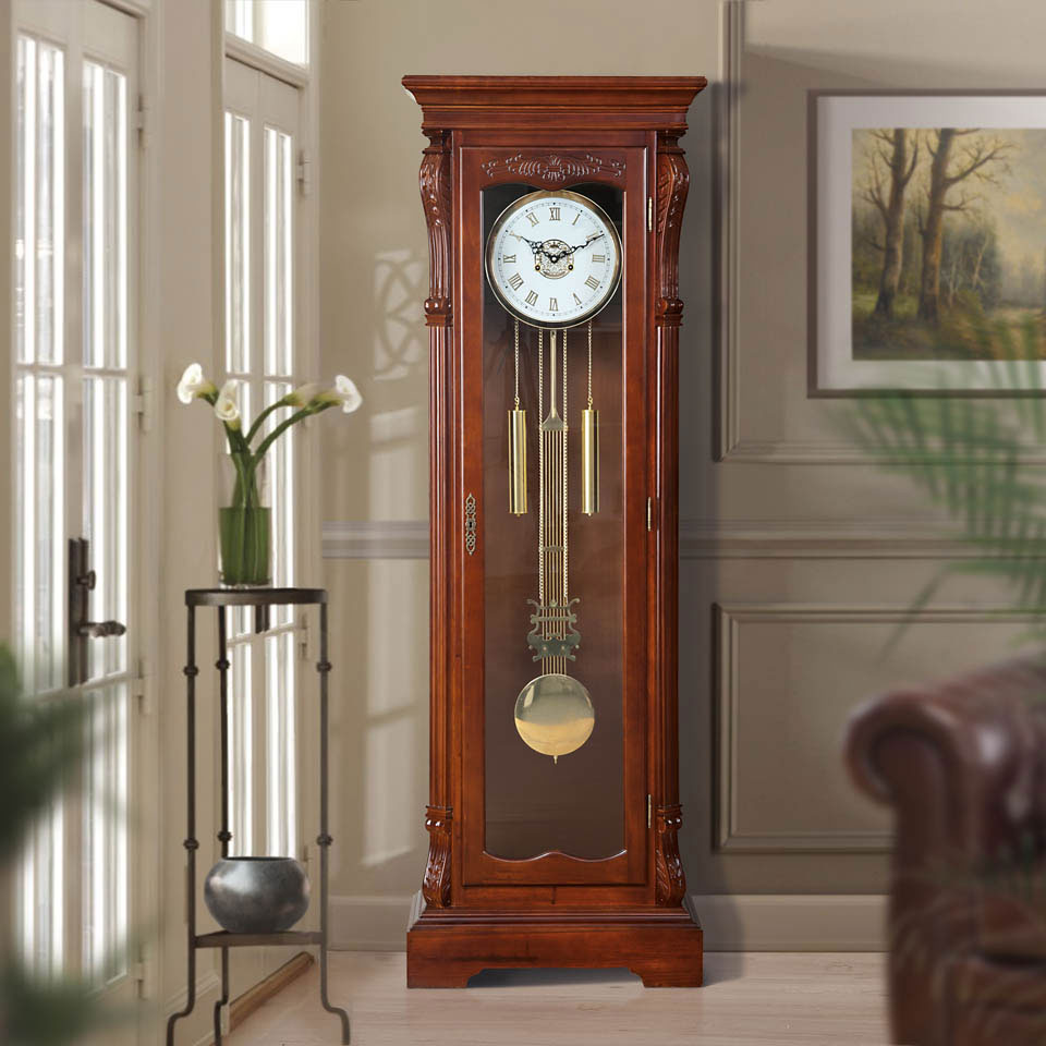 Stanhope Wooden Grandfather Clock