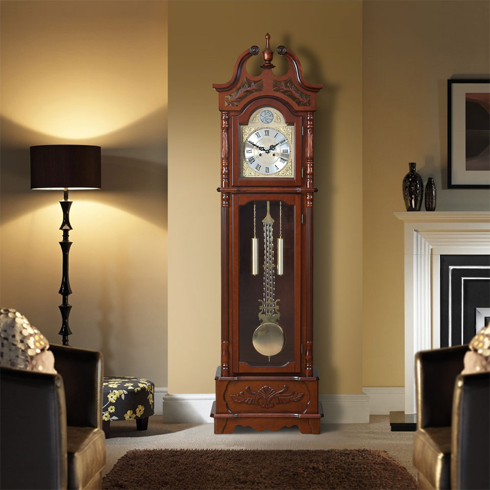Portman Wooden Grandfather Clock