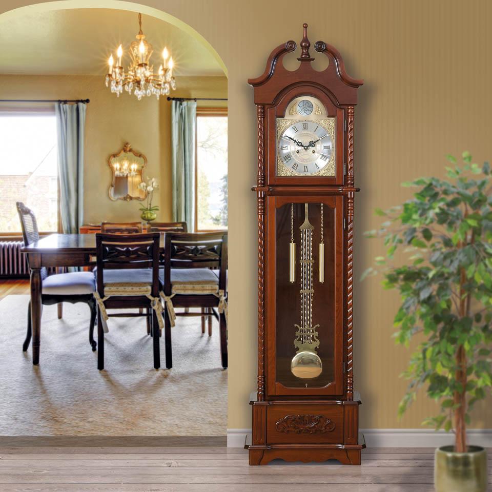 Wyndham Wooden Grandfather Clock