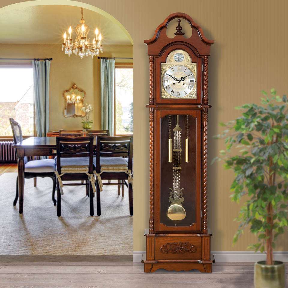 Fitzroy Wooden Grandfather Clock