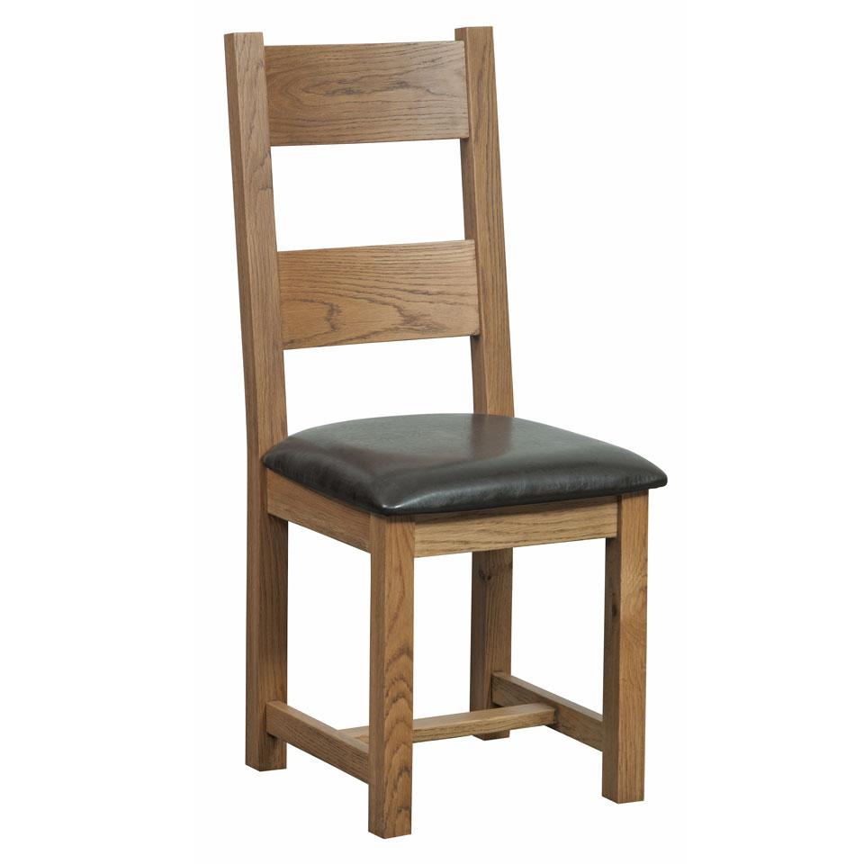Pair of Tavistock Oak Dining Chairs