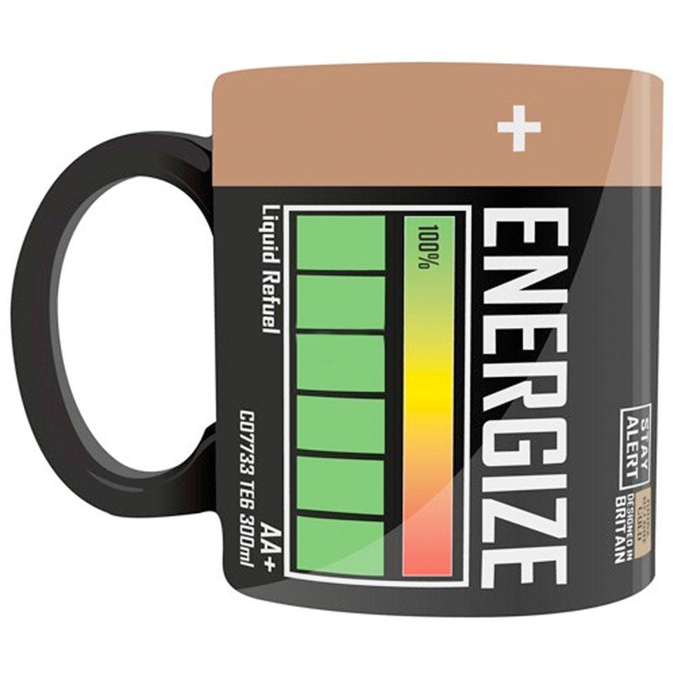 Energize Battery Heat Change Mug