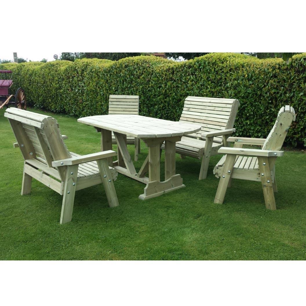 Ergo 6 Seater Table Set