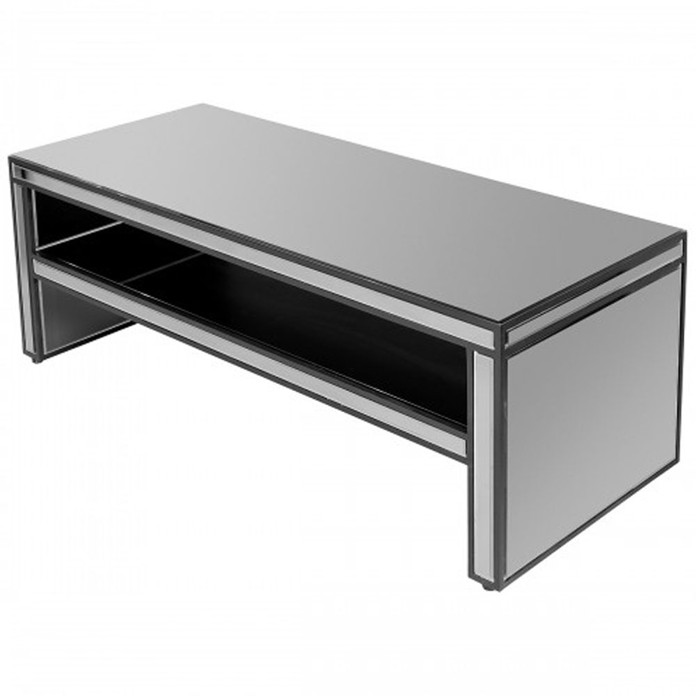 Titanium Mirrored Coffee Table