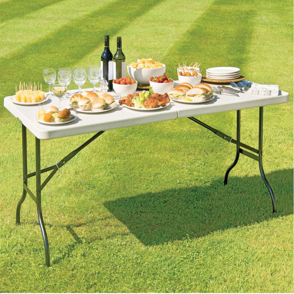 5ft Foldaway Portable Banqueting and Picnic Table