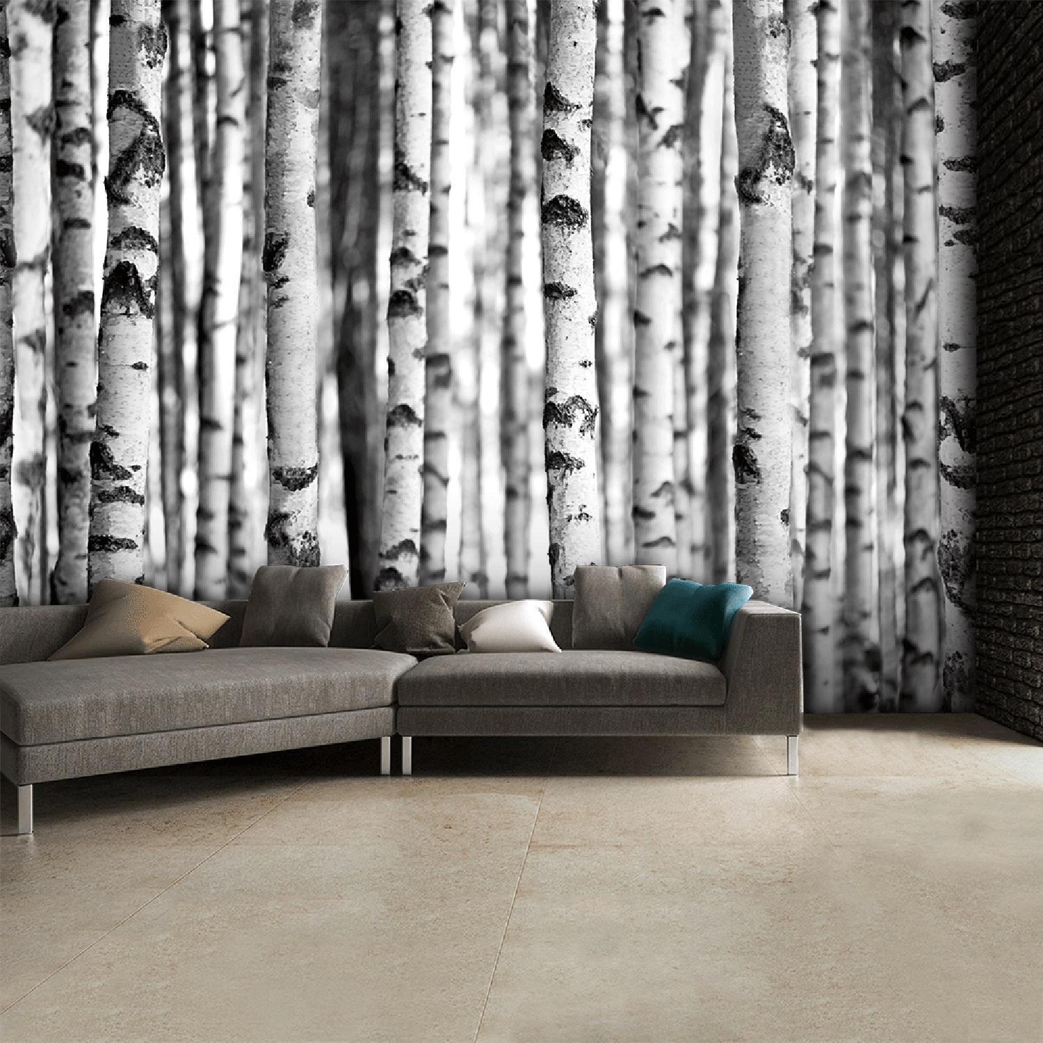Image of Vintage Forest Wall Mural