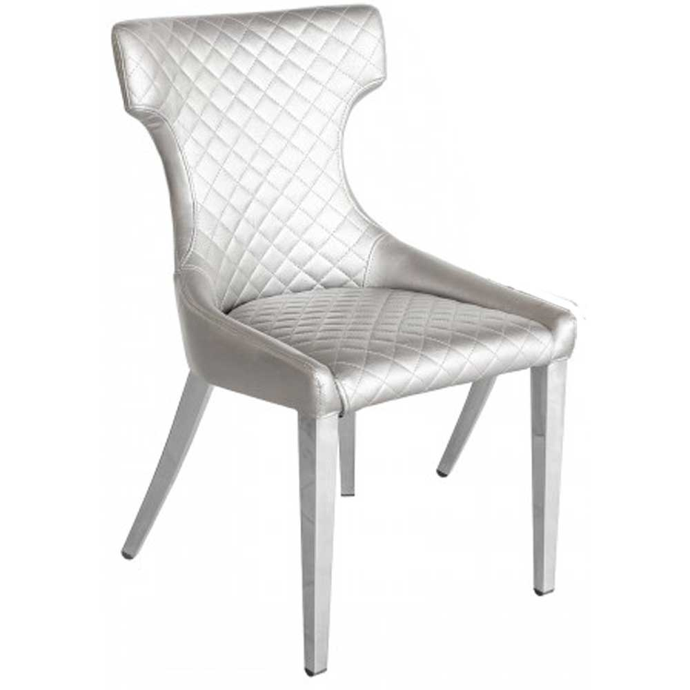 Stamford Dining Chair - Silver