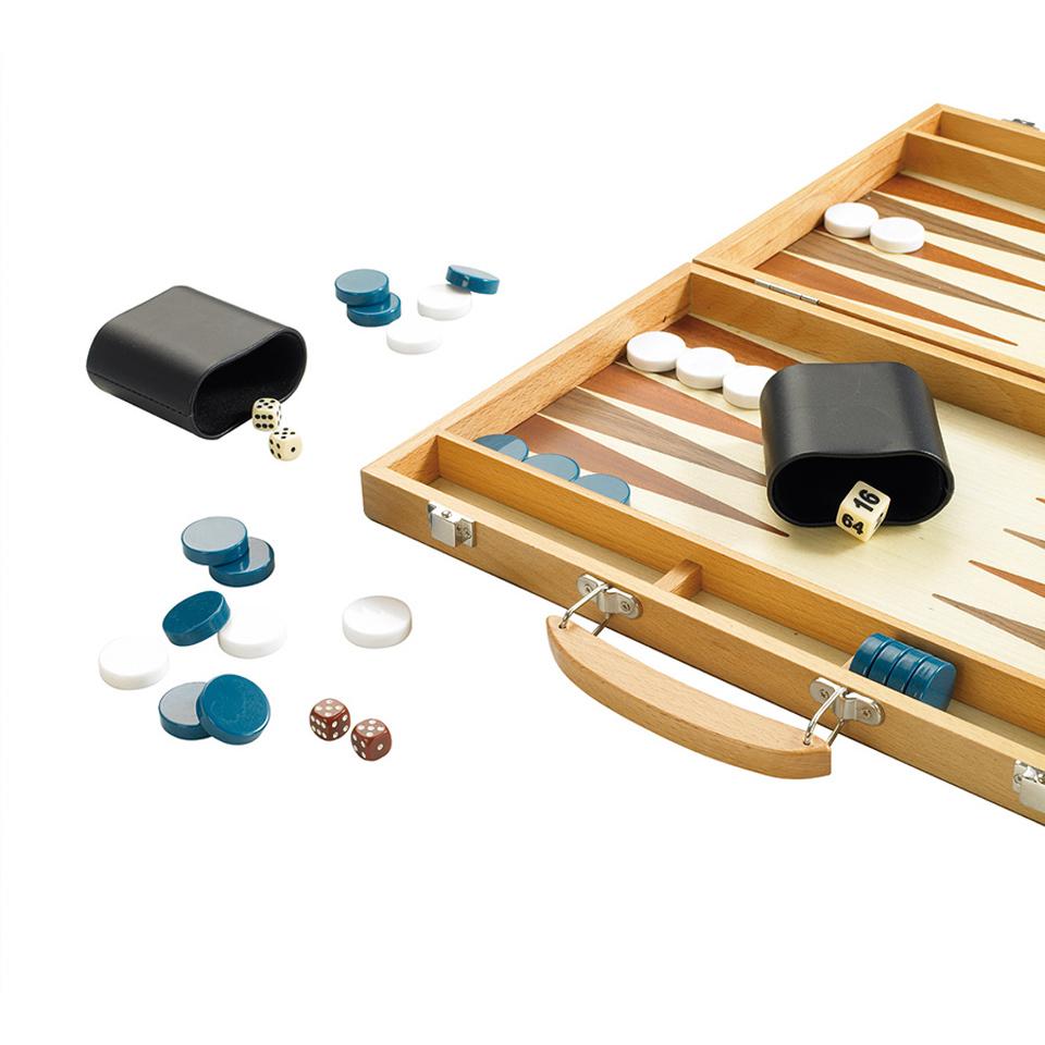 15 Wooden Backgammon