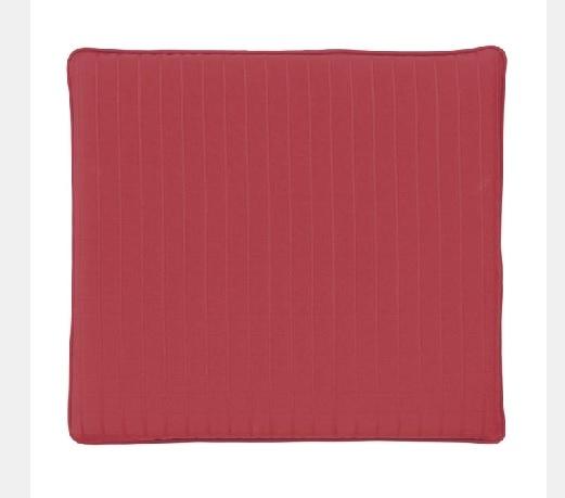 Jacquard Red Seat Pad Medium
