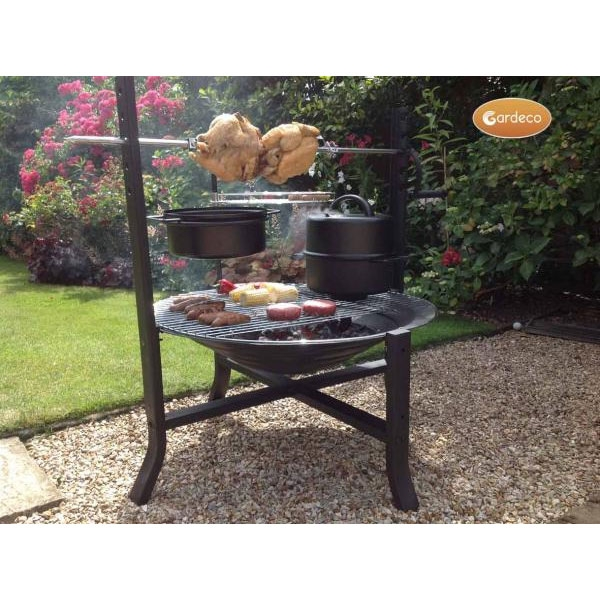 Buffalo Large 75cm Firepit with Accessories
