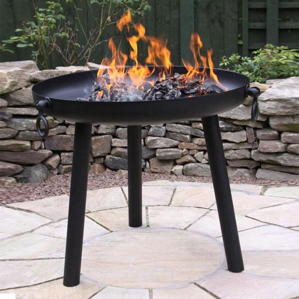 Dokota Black Steel X-Large Firepit