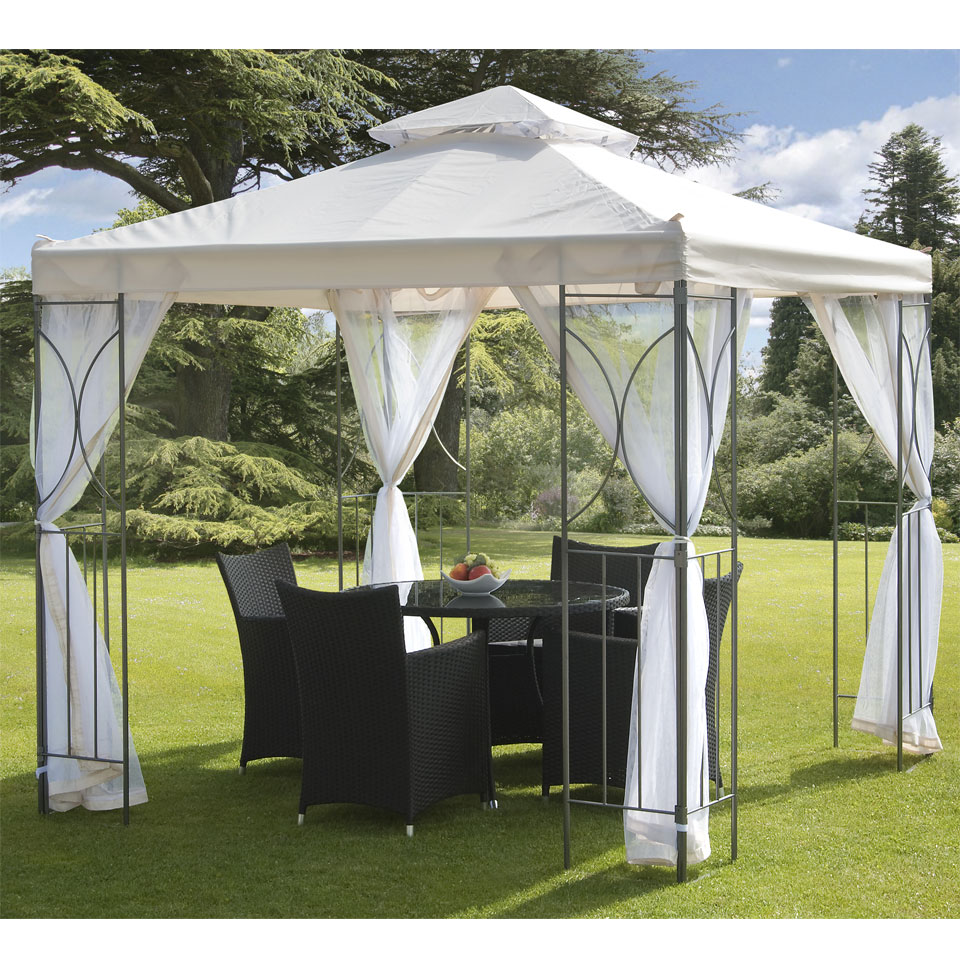 Suntime Polenza 2.5m Cream Gazebo