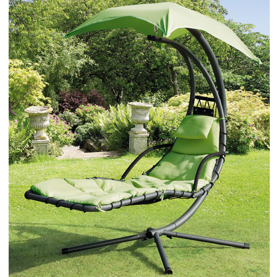 Suntime Green Helicopter Garden Swing Seat