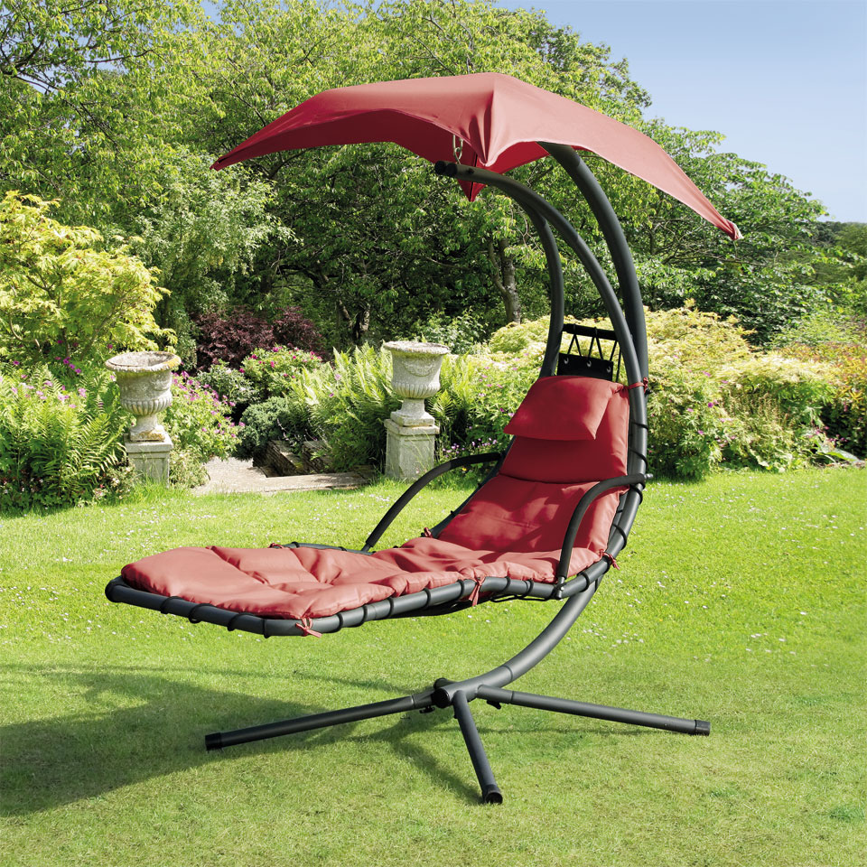 Suntime Red Helicopter Garden Swing Seat