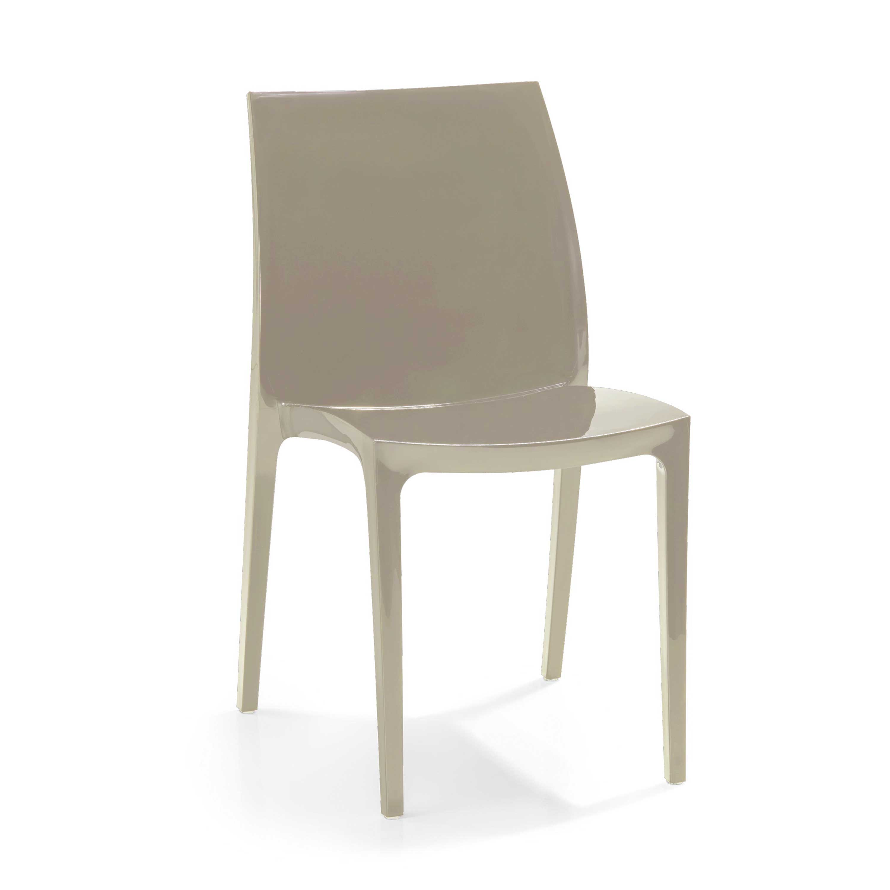 allibert sento cappuccino garden dining chair