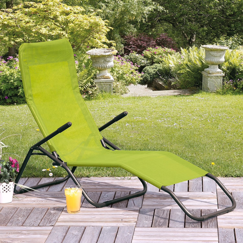 Lime Green Siesta Reclining Lounger