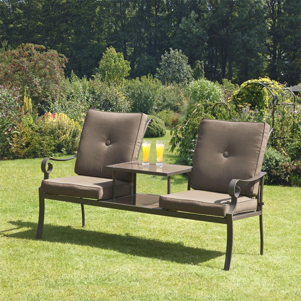 Ferndown Brown Duo Seat