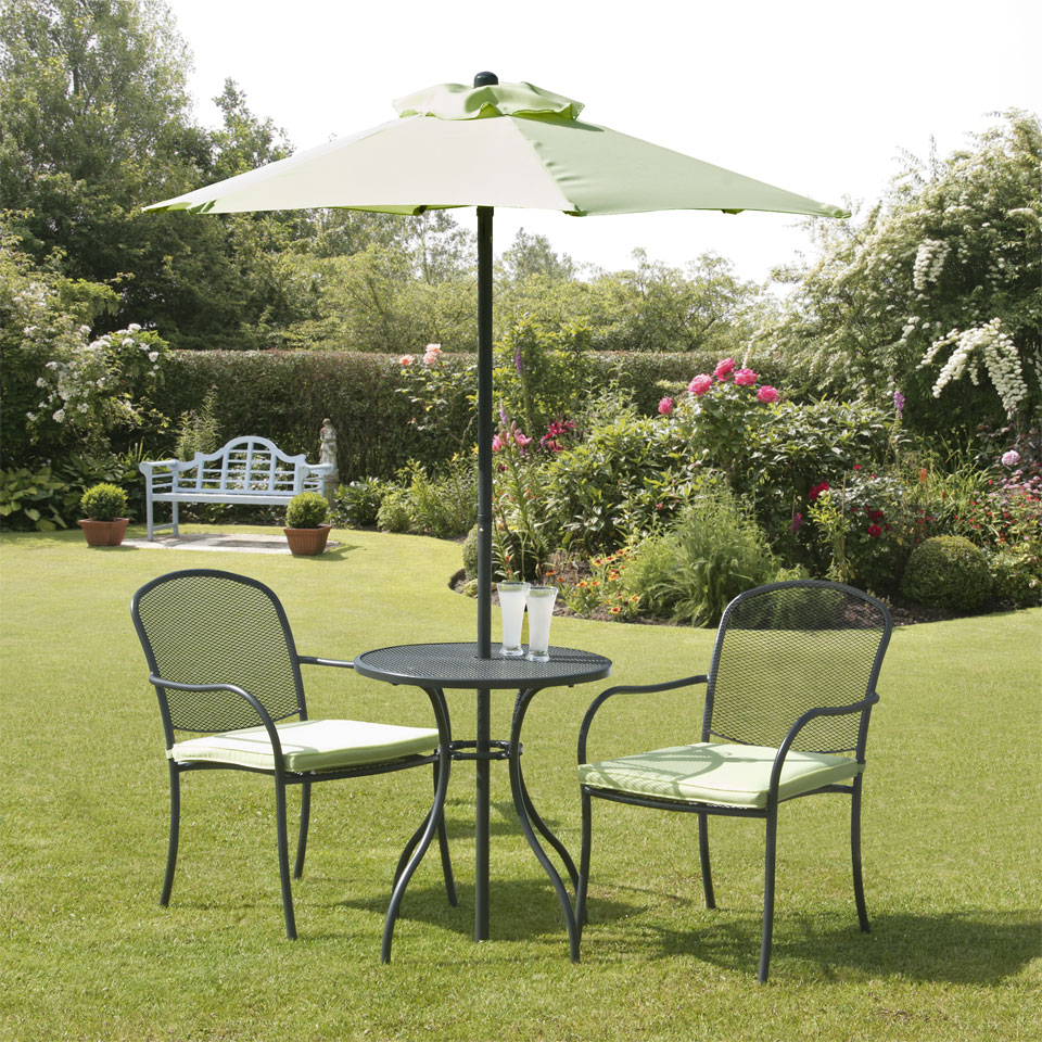 Bentley Lime & Charcoal Bistro Set