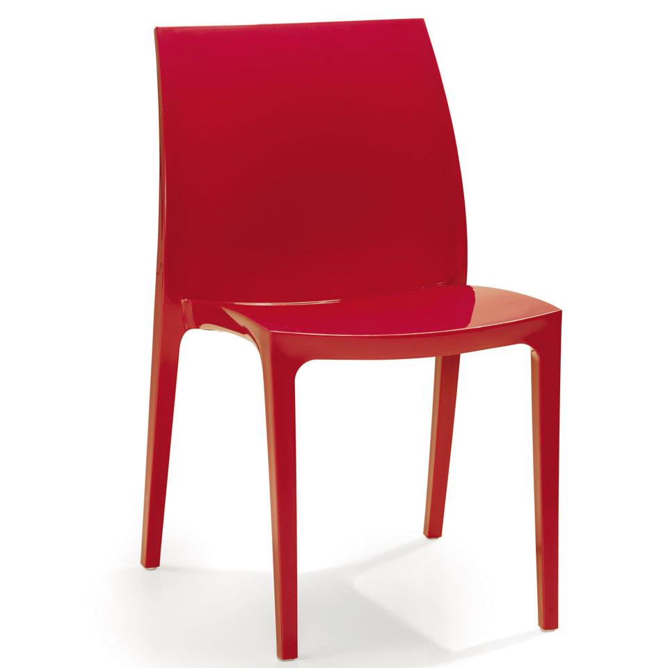 Allibert Sento Red Dining Chair
