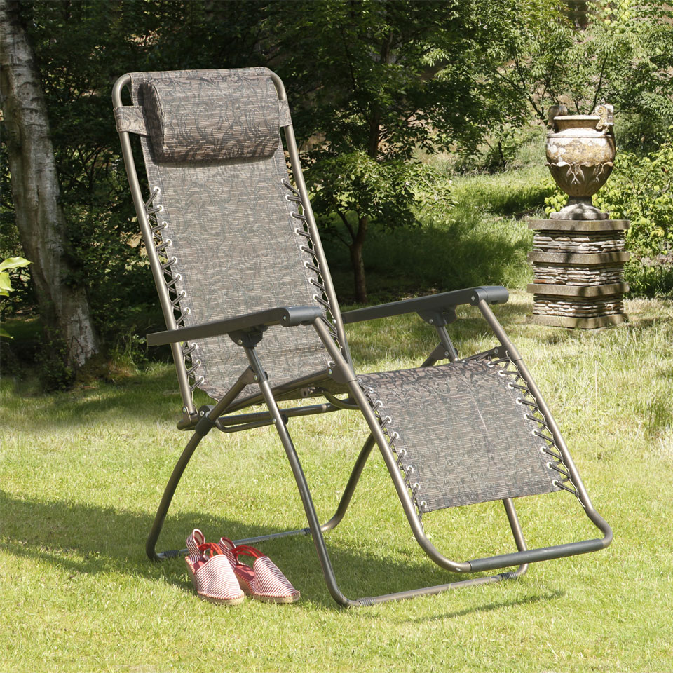 Jacquard Royale Deluxe Reclining Sunlounger
