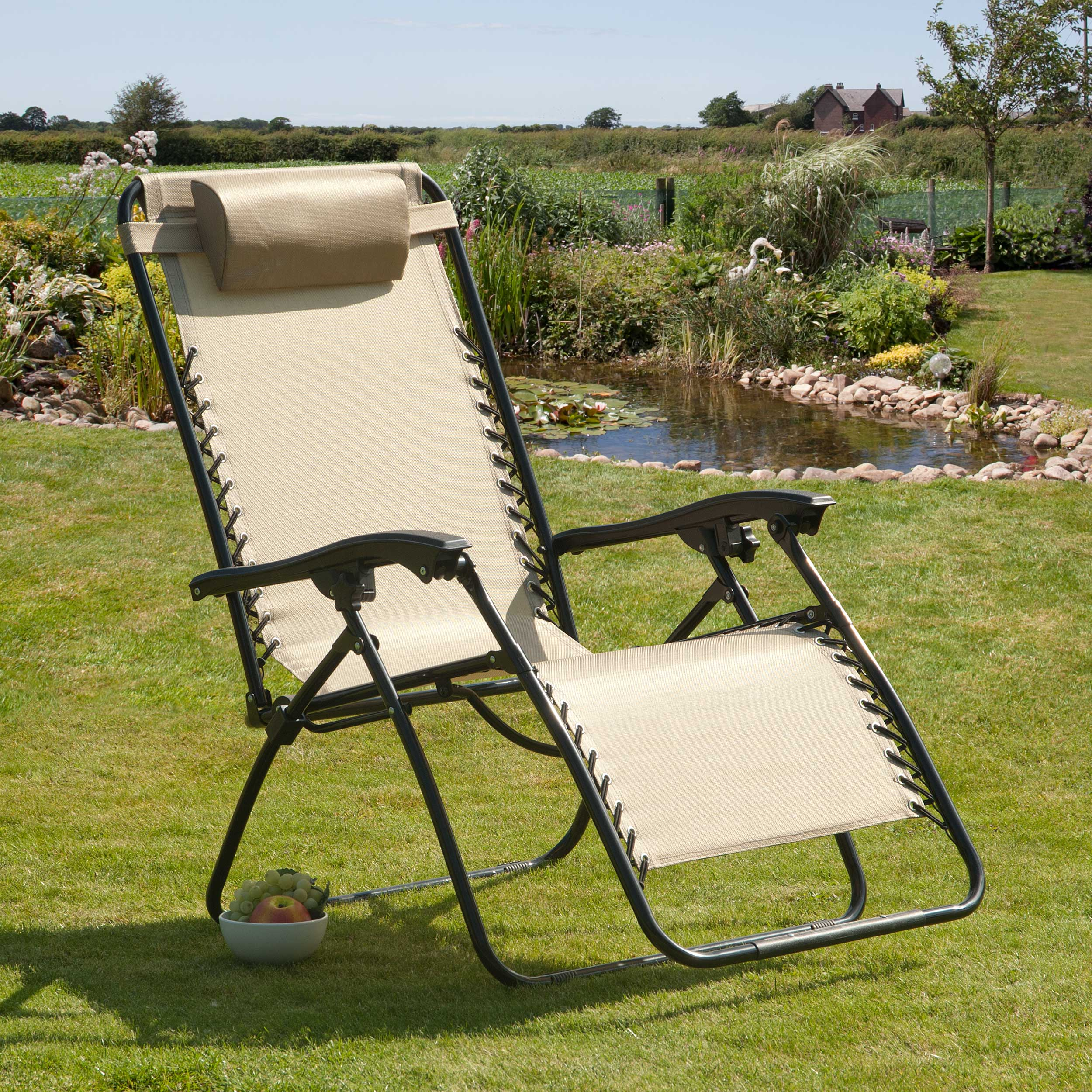 Suntime Large Deluxe Royale Outdoor Gravity Chair