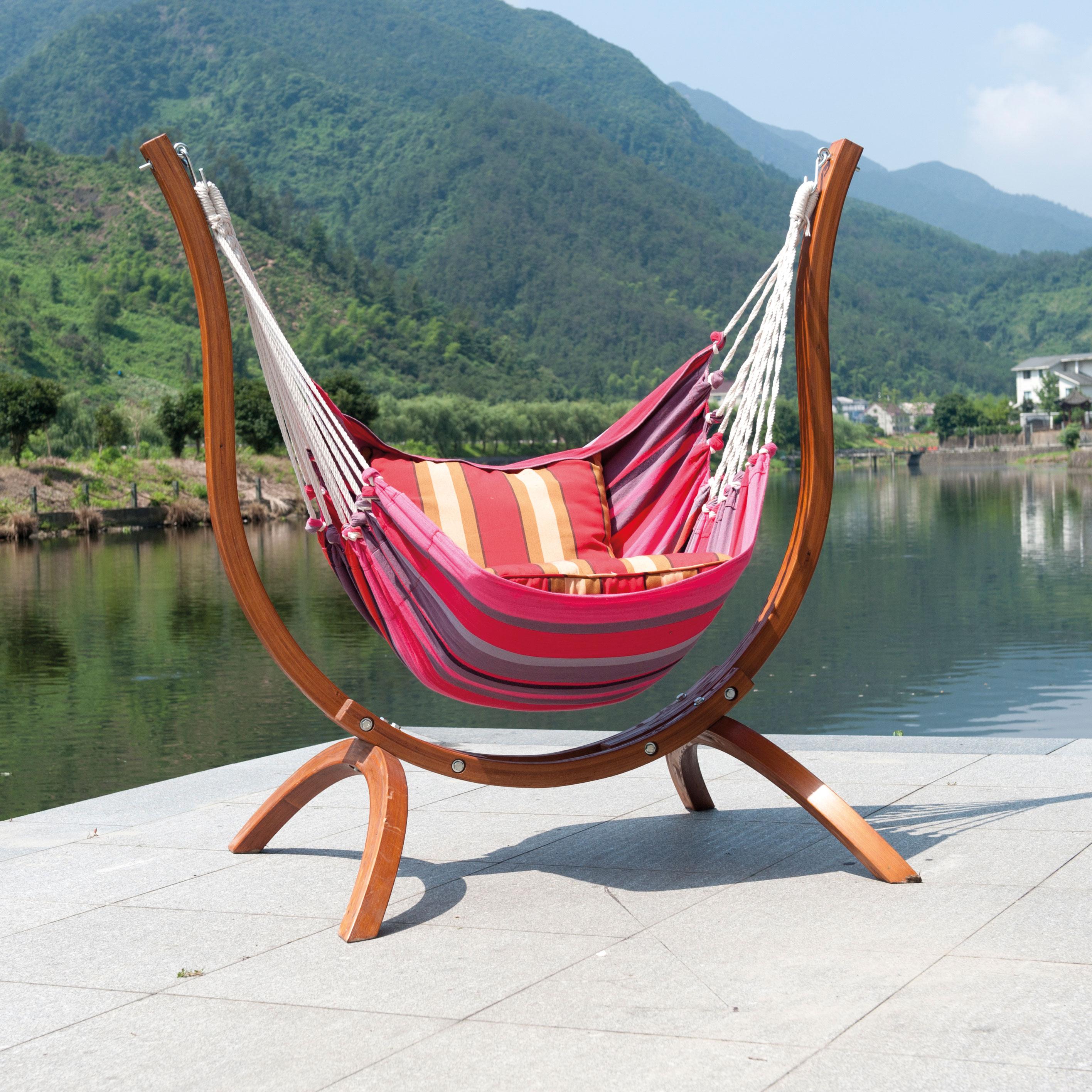 Ravenna Wooden Hammock Chair