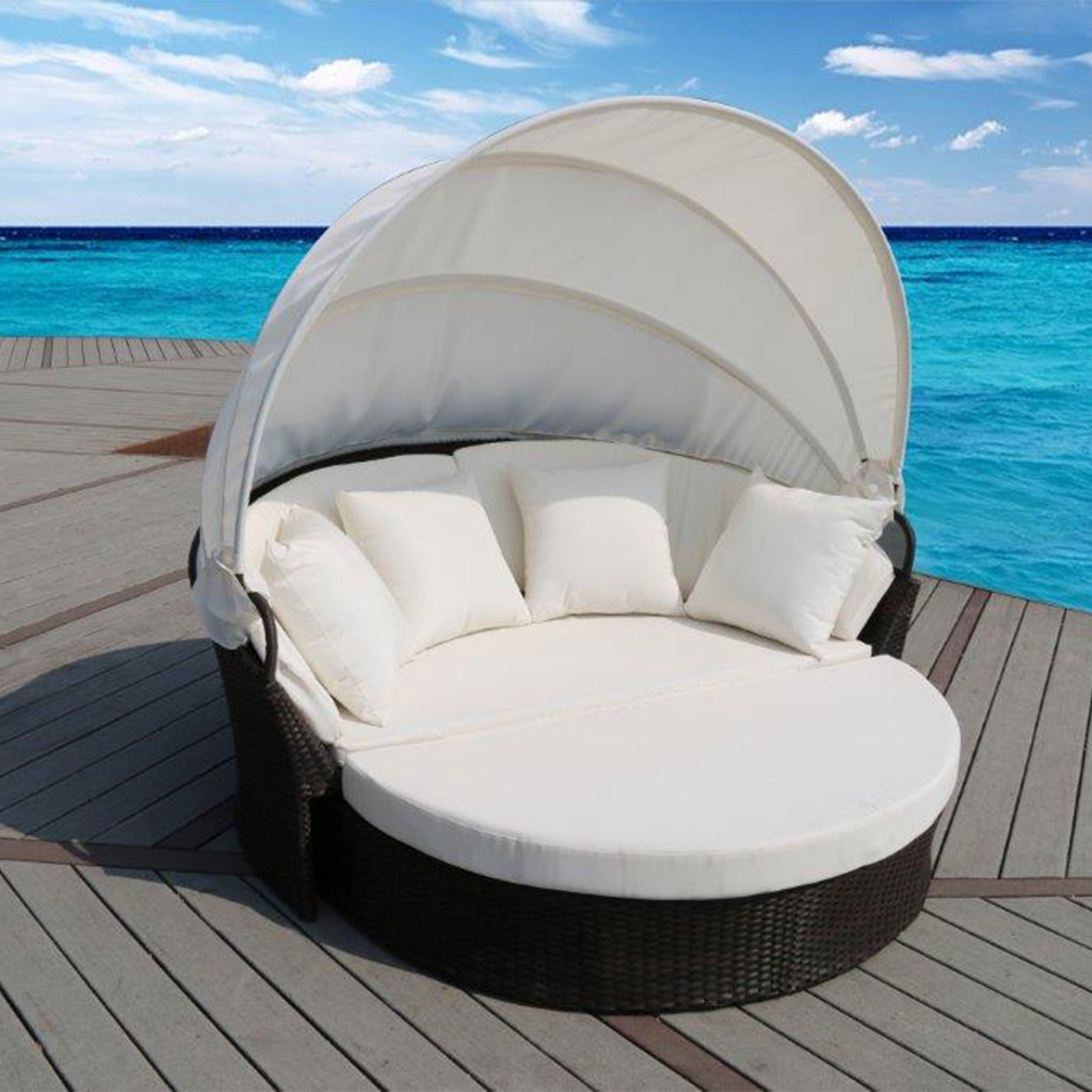 Barcelona Rattan Day Bed