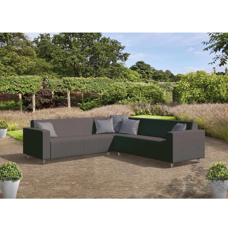 Rafael Graphite Grey Corner Sofa