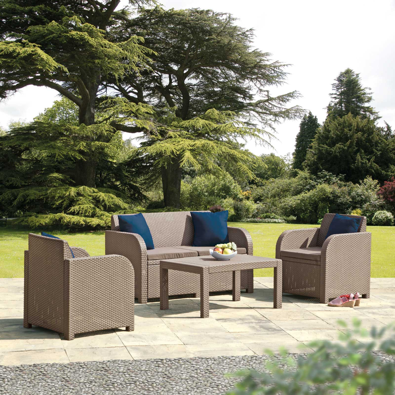 Allibert Carolina Garden Lounge Furniture Set