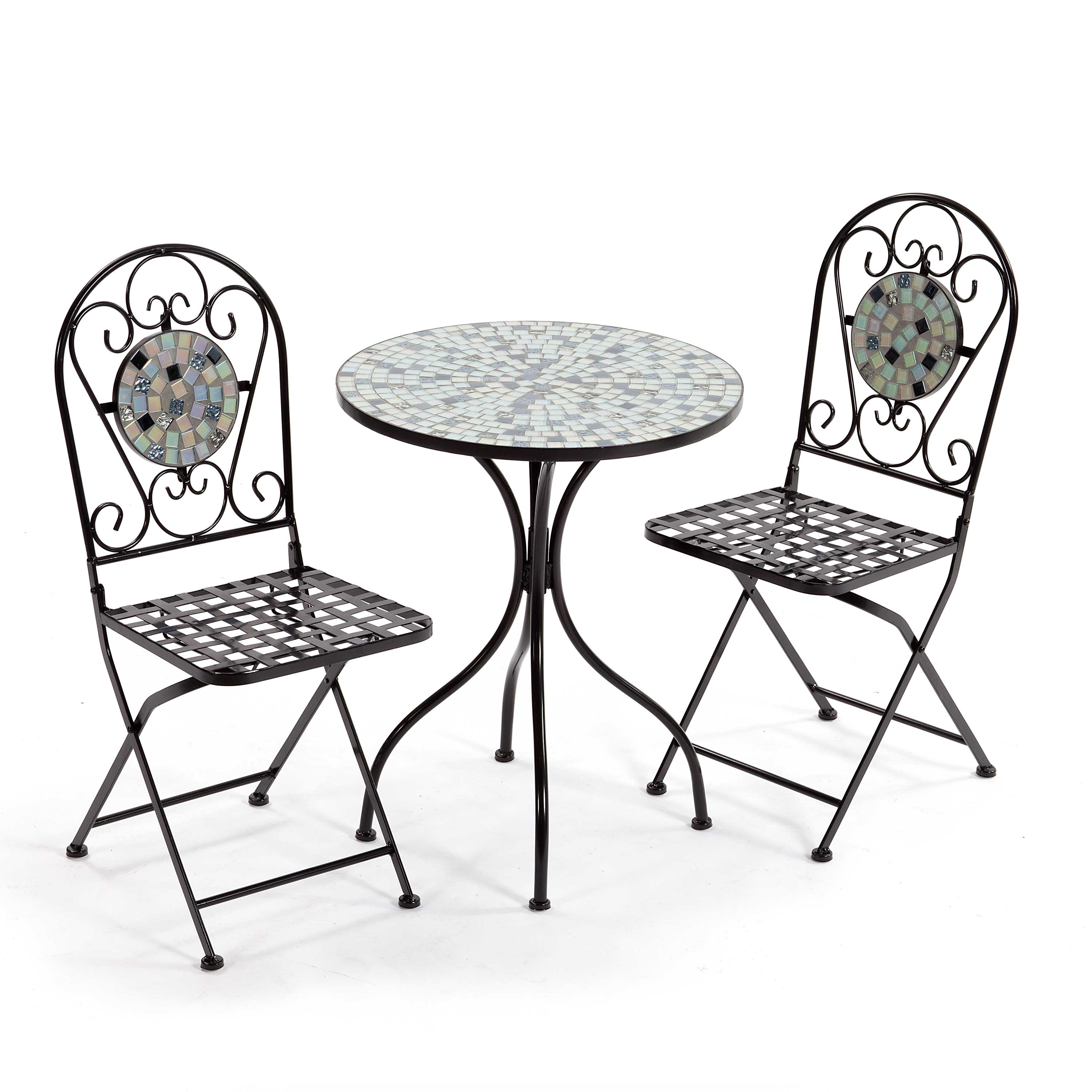 Suntime Multi Tiles Mosaic Bistro Set