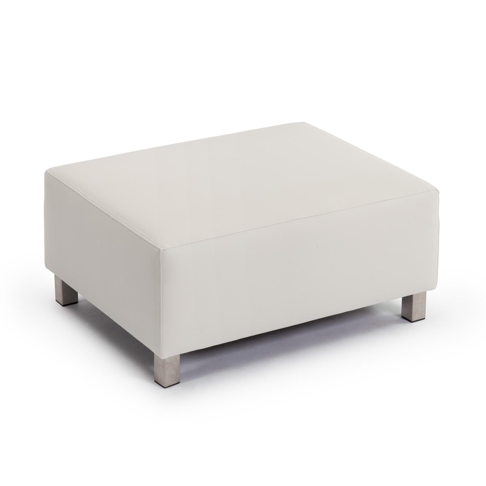 Marbella Beige Hocker (Patio Footstool)