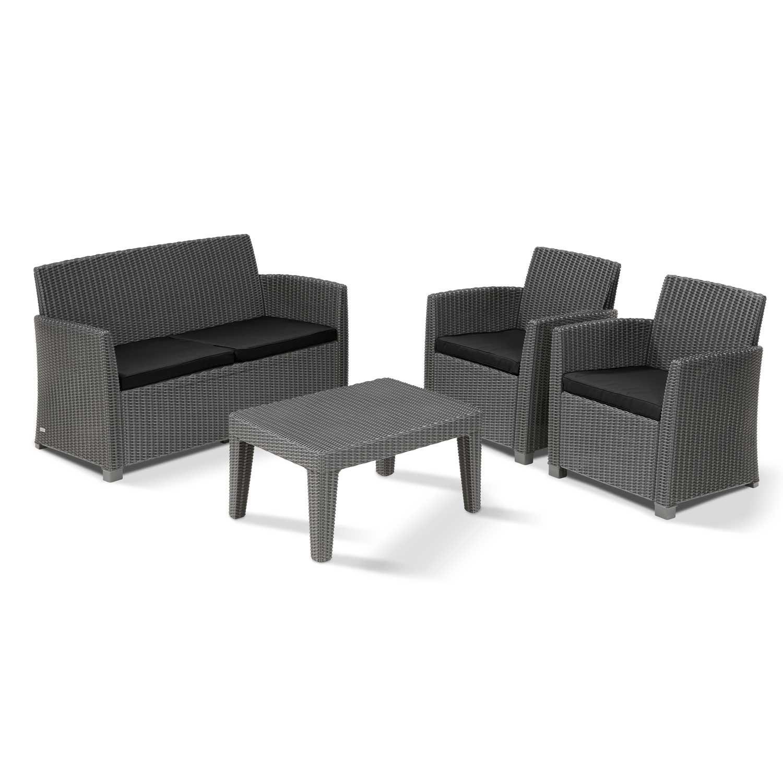 Corona 4 Seat Garden Sofa Set