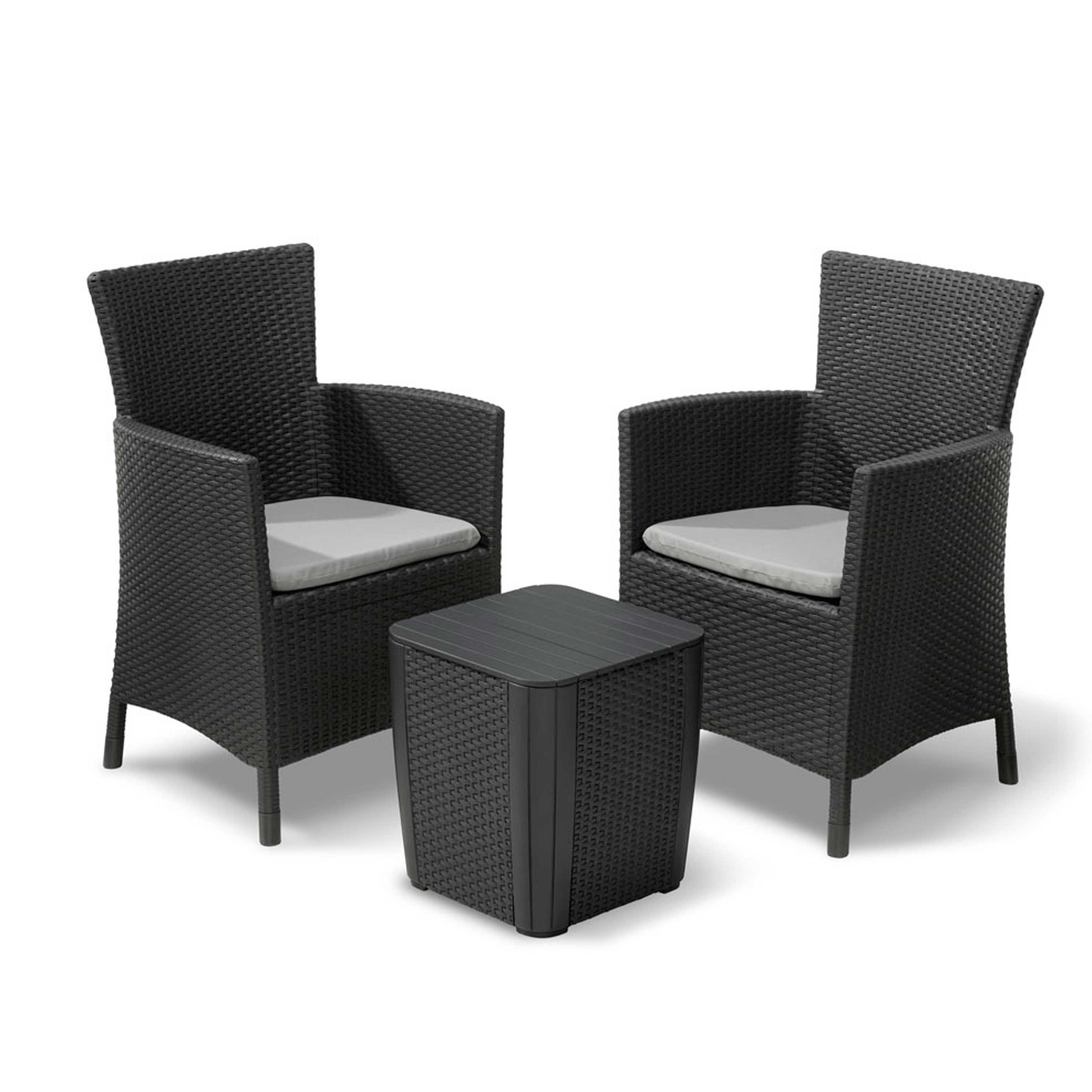 Gardens and Homes Direct Allibert Iowa Two Seater Bistro Set