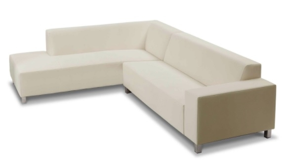 Marbella Sofa Collection White Left Arm Sitting