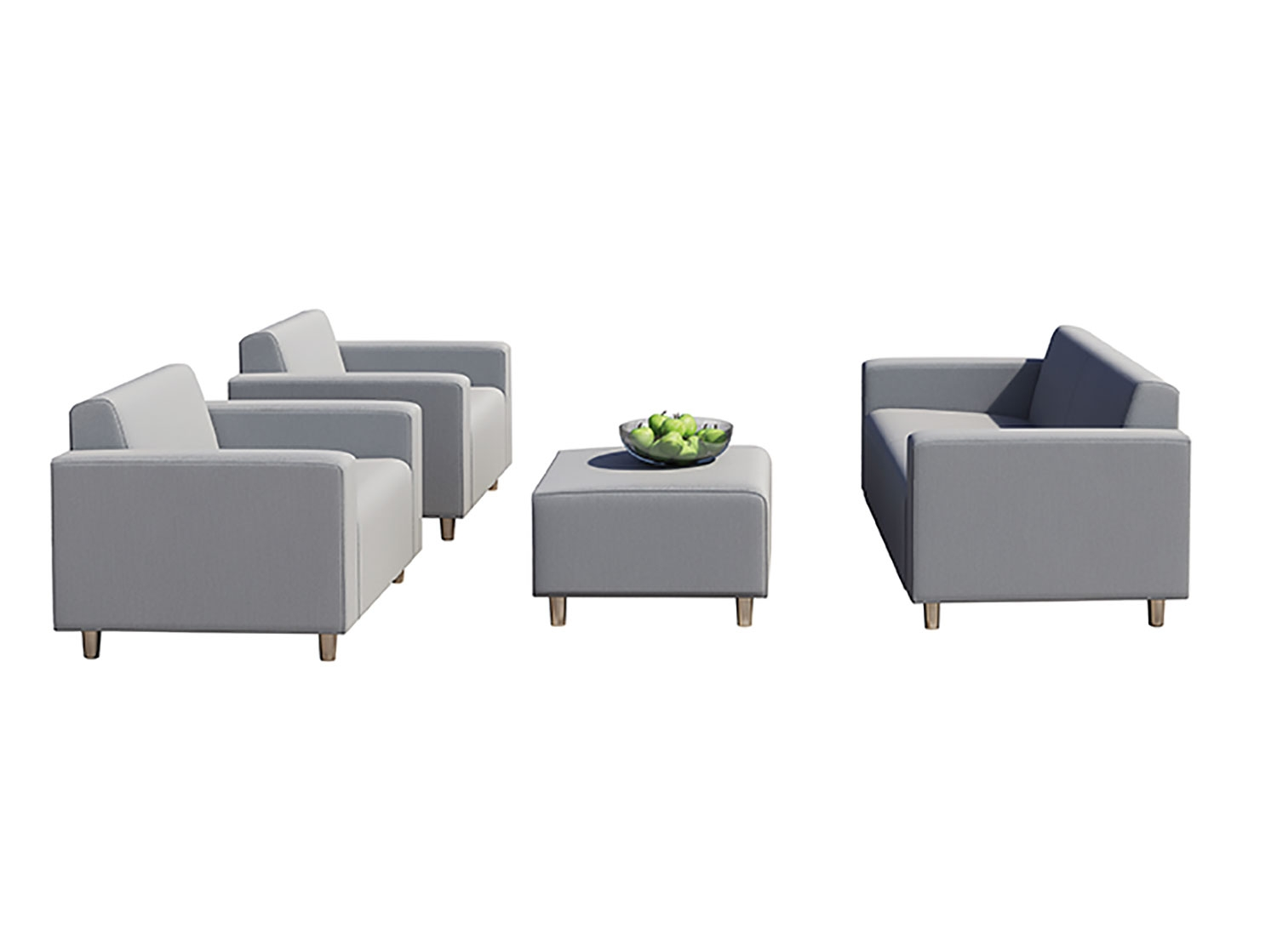 Tom Outdoor Light Grey Sofa Set