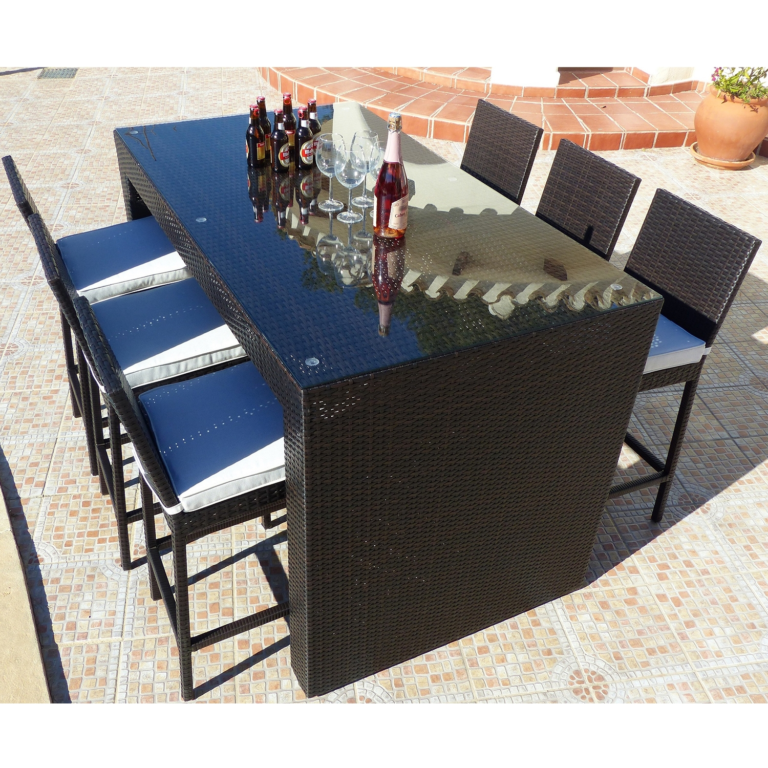 Premium Eros 6 Seat Coffee Bar Set