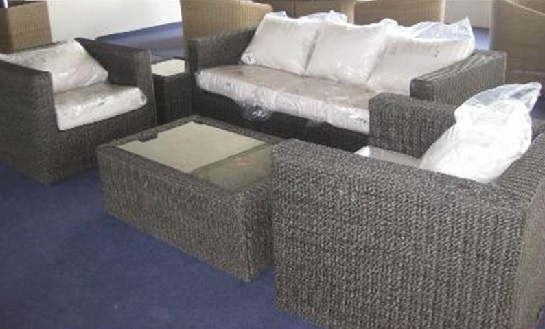 Sargasso 2 Seat Sofa Coffee Collection Flat Wicker