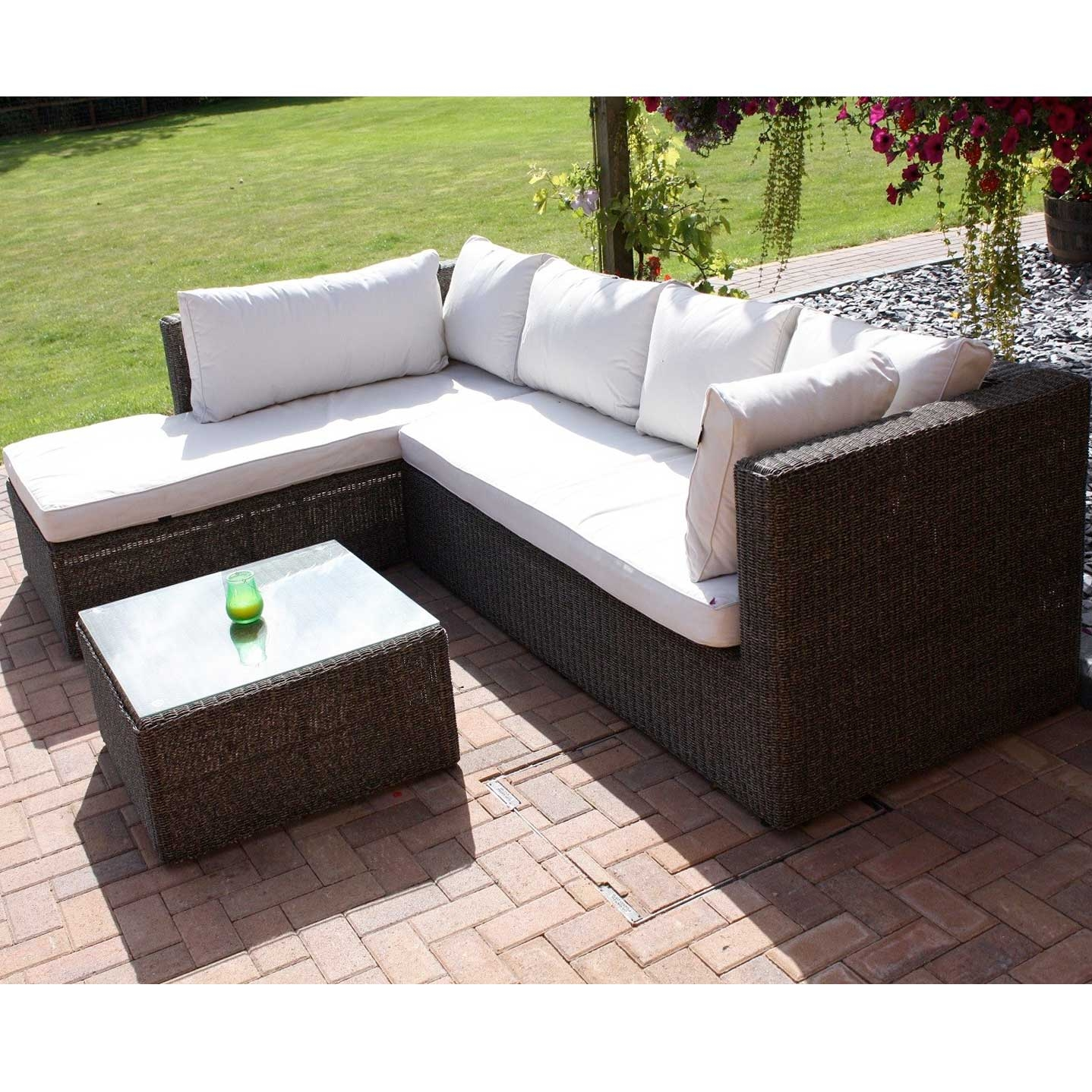 Premium Triton Rattan Sofa Set - Right Handed