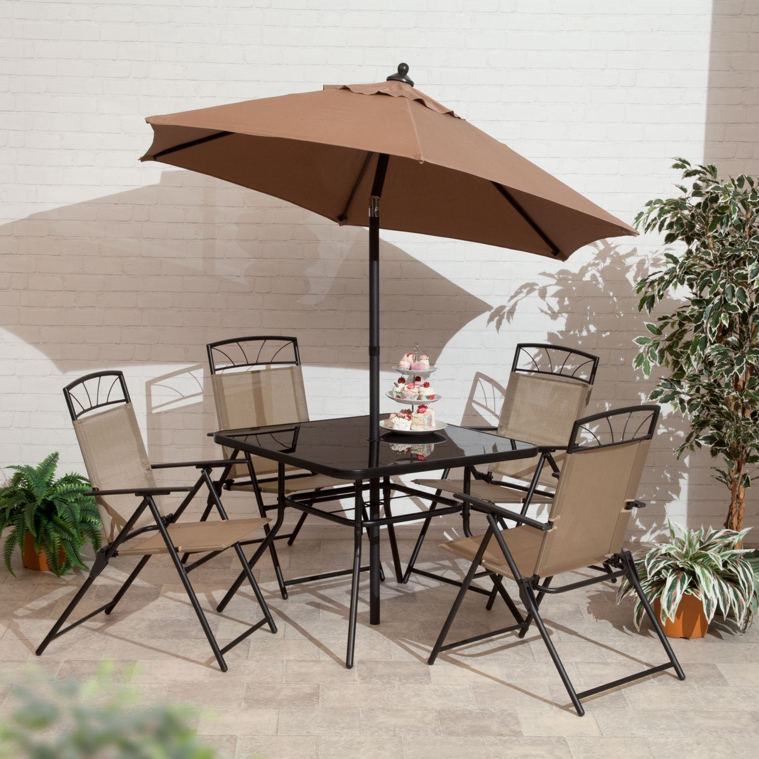 Image of 6 Piece Kent \ Memphis Dining Collection Set Copper