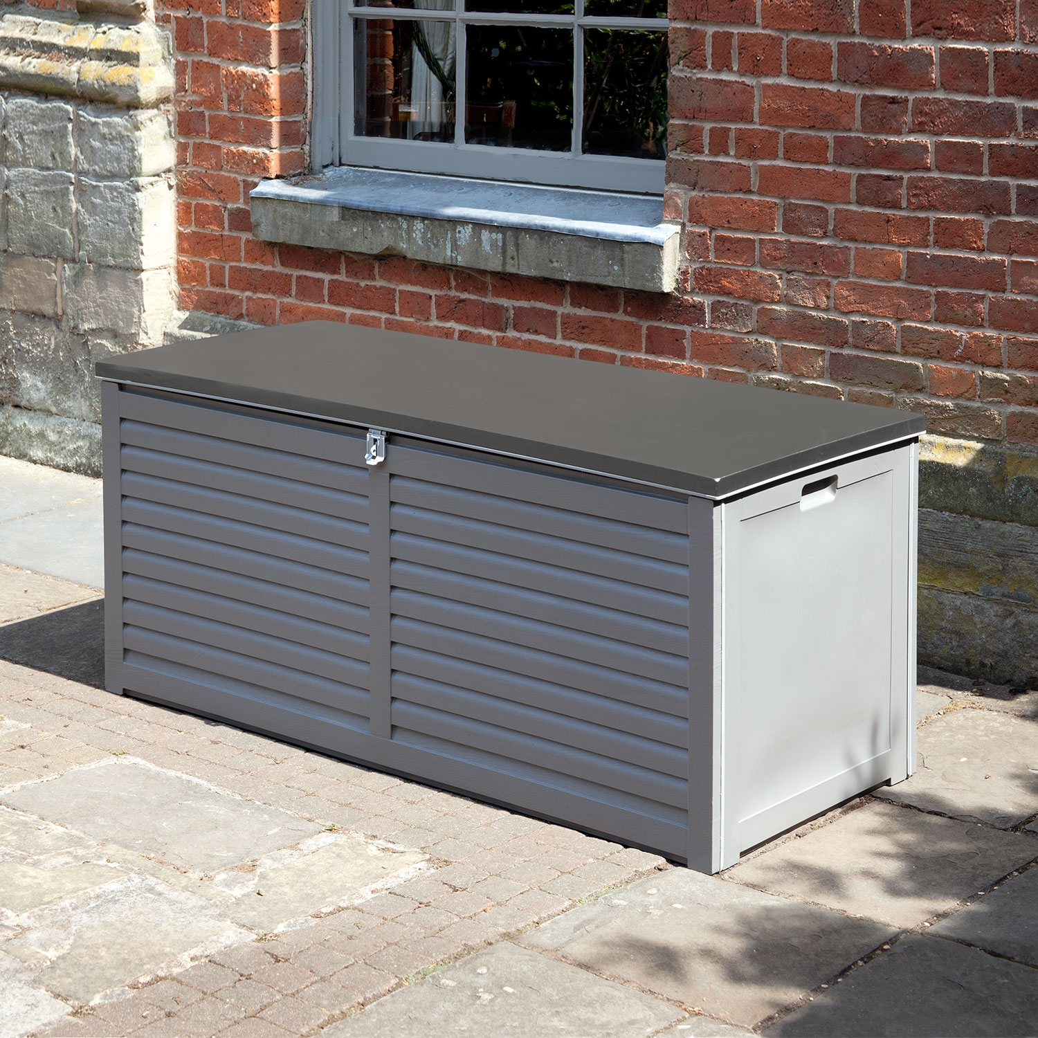 Image of Edmonton 490L PP Storage Box With 2 Gas Lifts