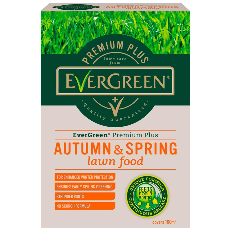 Image of EverGreen Premium Plus Autumn & Spring Lawn Food 100m2
