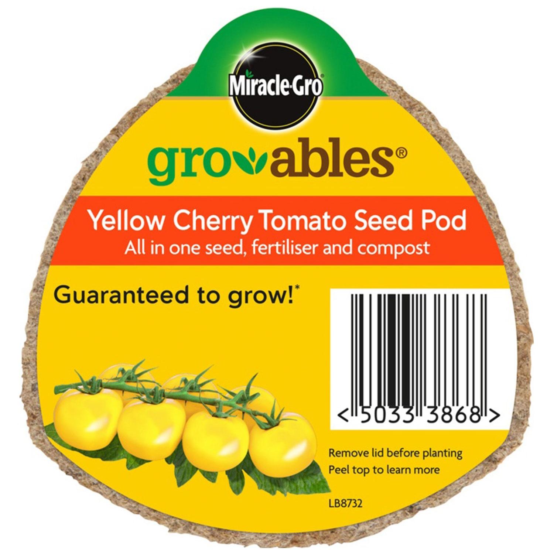 Miracle-Gro Groables Yellow Cherry Tomato