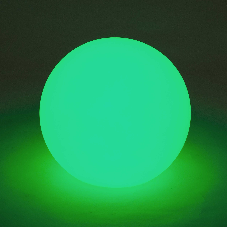 Wirefree Medium Rechargeable Illuminating LED Full Moon Globe Lamp
