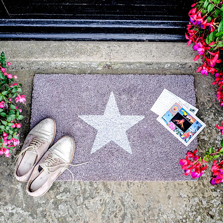 Image of Glitter Star Doormat