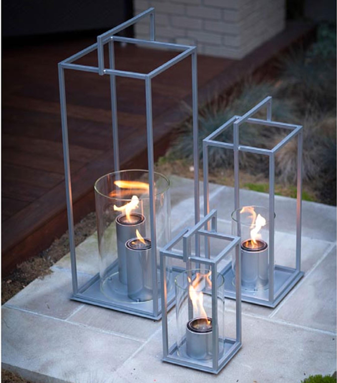 Hampton Large Flame Lantern