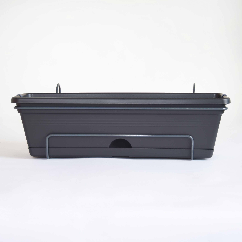 Green Basics Living Black 50cm All-in-One Trough