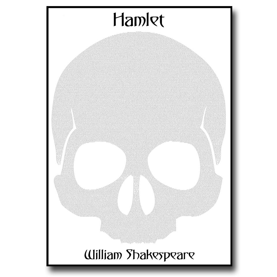Hamlet Text Wall Print